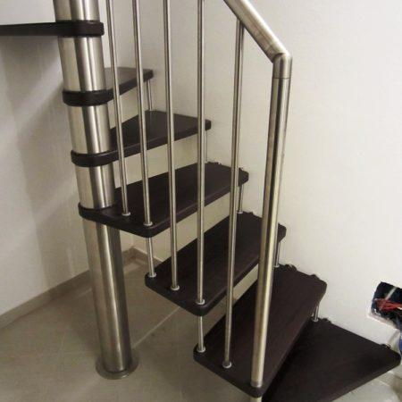 scala chiocciola per interno