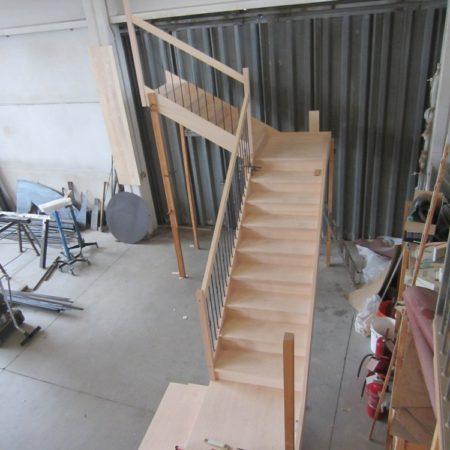Scale a fascioni  in costruzione
