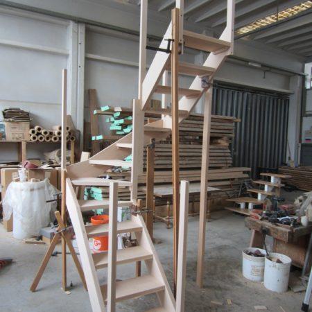 scale in costruzione a fascioni